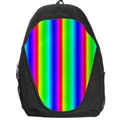 Rainbow Gradient Backpack Bag by Nexatart