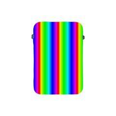 Rainbow Gradient Apple Ipad Mini Protective Soft Cases by Nexatart