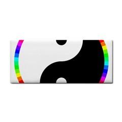Rainbow Around Yinyang Cosmetic Storage Cases by Nexatart