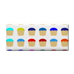 Colorful Cupcakes Pattern Cosmetic Storage Cases by Nexatart