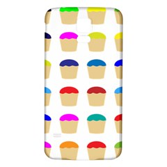 Colorful Cupcakes Pattern Samsung Galaxy S5 Back Case (white) by Nexatart
