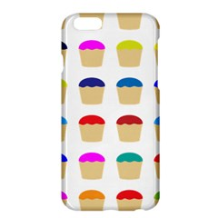 Colorful Cupcakes Pattern Apple Iphone 6 Plus/6s Plus Hardshell Case by Nexatart