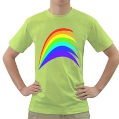 Rainbow Green T Shirt