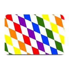 Rainbow Flag Bavaria Plate Mats by Nexatart