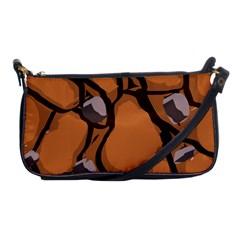 Seamless Dirt Texture Shoulder Clutch Bags by Nexatart