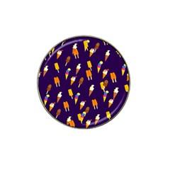 Seamless Ice Cream Pattern Hat Clip Ball Marker by Nexatart