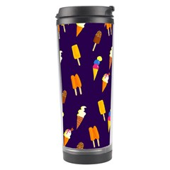 Seamless Ice Cream Pattern Travel Tumbler by Nexatart