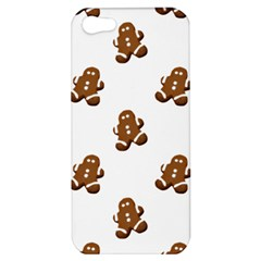 Gingerbread Seamless Pattern Apple Iphone 5 Hardshell Case by Nexatart