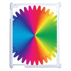 Rainbow Seal Re Imagined Apple Ipad 2 Case (white) by Nexatart