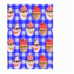 Cake Pattern Large Garden Flag (two Sides) by Nexatart