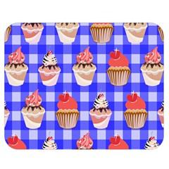 Cake Pattern Double Sided Flano Blanket (medium)  by Nexatart