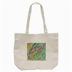 Crayon Texture Tote Bag (cream) by Nexatart