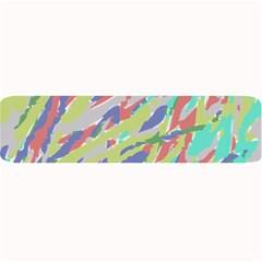 Crayon Texture Large Bar Mats by Nexatart