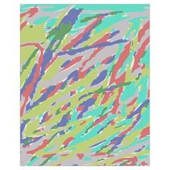Crayon Texture Drawstring Bag (small) by Nexatart