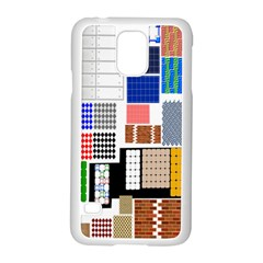 Texture Package Samsung Galaxy S5 Case (white)
