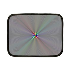Square Rainbow Netbook Case (small)  by Nexatart