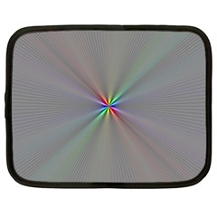 Square Rainbow Netbook Case (XL)