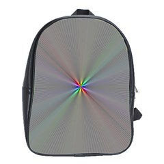 Square Rainbow School Bags(large)  by Nexatart