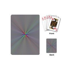 Square Rainbow Playing Cards (mini)  by Nexatart