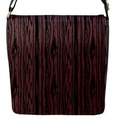Grain Woody Texture Seamless Pattern Flap Messenger Bag (s) by Nexatart