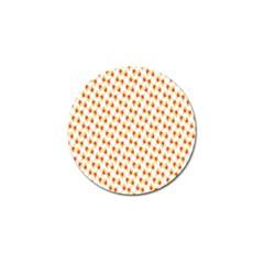 Candy Corn Seamless Pattern Golf Ball Marker (4 Pack) by Nexatart