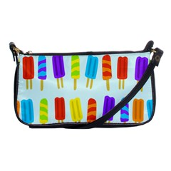 Popsicle Pattern Shoulder Clutch Bags by Nexatart
