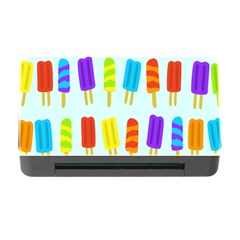 Popsicle Pattern Memory Card Reader With Cf by Nexatart
