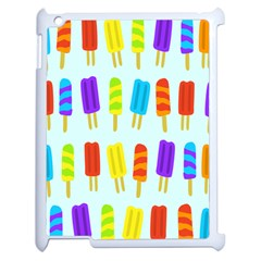 Popsicle Pattern Apple Ipad 2 Case (white) by Nexatart