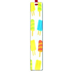 Popsicle Pattern Large Book Marks