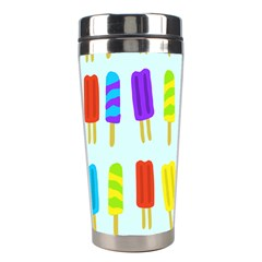 Popsicle Pattern Stainless Steel Travel Tumblers by Nexatart