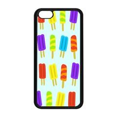 Popsicle Pattern Apple Iphone 5c Seamless Case (black) by Nexatart