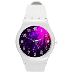 Big Bang Round Plastic Sport Watch (m) by ValentinaDesign