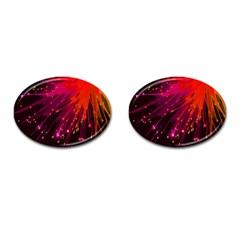 Big Bang Cufflinks (oval) by ValentinaDesign