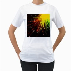 Big Bang Women s T Shirt (white) (two Sided) by ValentinaDesign