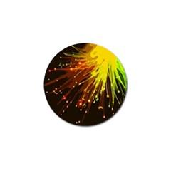 Big Bang Golf Ball Marker by ValentinaDesign