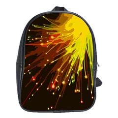Big Bang School Bags (xl)  by ValentinaDesign