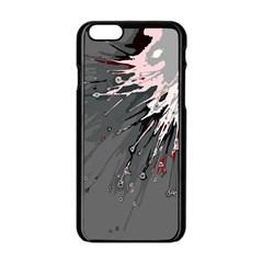 Big Bang Apple Iphone 6/6s Black Enamel Case by ValentinaDesign
