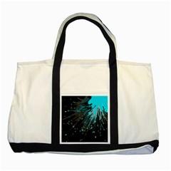 Big Bang Two Tone Tote Bag by ValentinaDesign