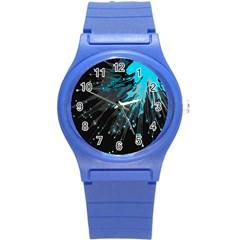 Big Bang Round Plastic Sport Watch (s) by ValentinaDesign