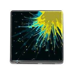 Big Bang Memory Card Reader (square) by ValentinaDesign