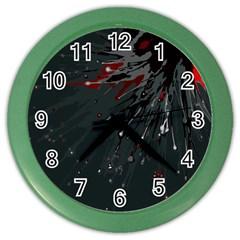 Big Bang Color Wall Clocks by ValentinaDesign