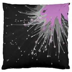 Big Bang Large Flano Cushion Case (two Sides) by ValentinaDesign