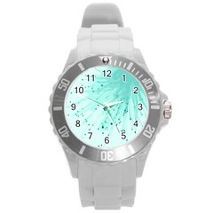 Big Bang Round Plastic Sport Watch (l) by ValentinaDesign