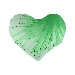 Big Bang Standard 16  Premium Heart Shape Cushions by ValentinaDesign