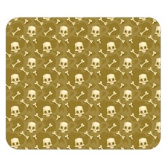 Skull Pattern 1 Double Sided Flano Blanket (small)