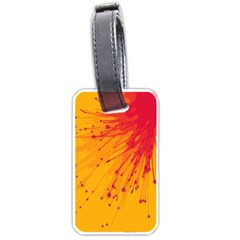 Big Bang Luggage Tags (two Sides) by ValentinaDesign