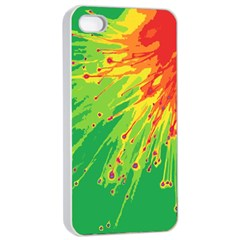 Big Bang Apple Iphone 4/4s Seamless Case (white) by ValentinaDesign
