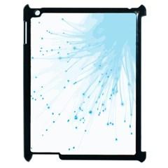 Big Bang Apple Ipad 2 Case (black) by ValentinaDesign