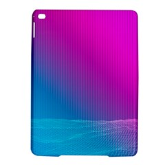 With Wireframe Terrain Modeling Fabric Wave Chevron Waves Pink Blue Ipad Air 2 Hardshell Cases by Mariart