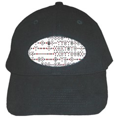 Bioplex Maps Molecular Chemistry Of Mathematical Physics Small Army Circle Black Cap by Mariart